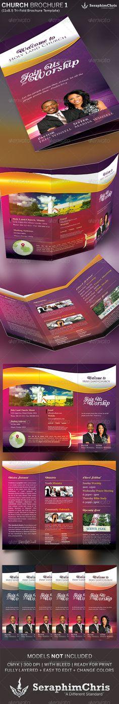 fundraising brochure templates