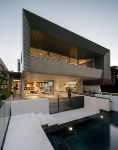 The best architecture in Western Australia in Bay View House by CSA Craig Steere Architects Contemporary Interior Design, Contemporary Architecture, Modern House Design, Interior Designing, Modern Houses, Modern Contemporary, Architecture Awards, Residential Architecture, Amazing Architecture