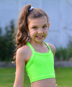 5121f651be124c Loving this Green Crop Top - Toddler  amp  Girls on  zulily!  zulilyfinds