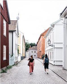 Vadstena, Sweden Seen, What A Wonderful World, Wonders Of The World, Travel Inspiration, Wanderlust, Street View, City, Summer, Bucket