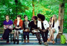 Fashion Show im Wald