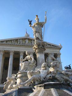 Vienna Palace Athena Statute, Austria