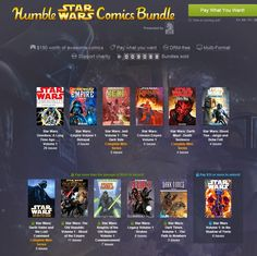 Docking Bay 327: Missing Something To Read? Pay What You Want For This Huge Star Wars Comics Bundle!