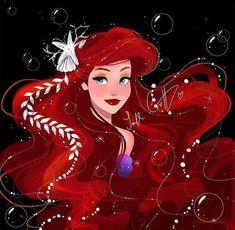 Ariel Disney, Princesa Ariel Da Disney, Disney Little Mermaids, Ariel The Little Mermaid, Disney Girls, Disney Magic, Disney Princess Drawings, Disney Princess Art, Disney Fan Art