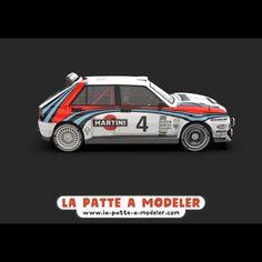 Lancia Delta, Serie Bmw, Hatchback Cars, Martini, Car Design Sketch, Bmw E30, Car Posters, Blender 3d, Automotive Art