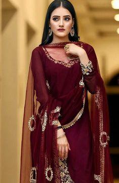 485e6e48eb @manidrehar❤ Indian Dresses Traditional, Pakistani Party Wear, Pakistani Wedding  Outfits, Pakistani