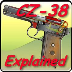 f0aa4835694 CZ-38 (vz 38) pistol explained - Apps on Google Play. Android Applications