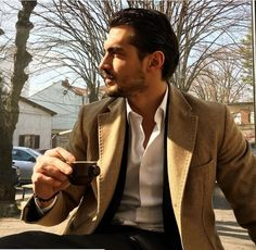 Pin for Later: These 26 Guys Drinking Coffee Are Hotter Than Your Morning Joe A Little Cup of Sexy Beautiful Boys, Gorgeous Men, Christian Tumblr, Andrew Christian, Dusan Susnjar, Men Coffee, Morning Joe, School Fashion, Attractive Men