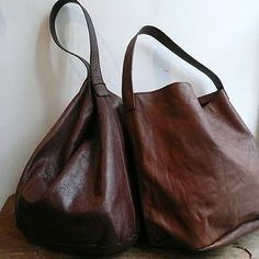 [エンベロープオンラインショップ]トートとショルダー brown leather bags