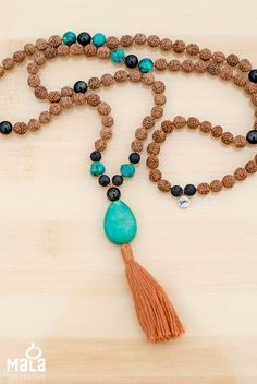 Surfer Mala | Perfect for riding the waves of life. #malabeads #yoga #meditation…