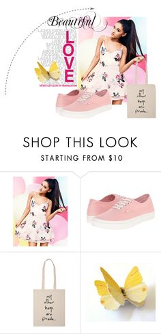 """""""A #7"""" by amrafashion ❤ liked on Polyvore featuring Lipsy and Vans"""