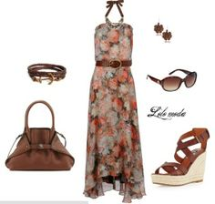 Chic maxi dress created by lolo moda, www.lolomoda.com