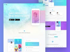 Hello Awesome designers, I've set myself a challenge to take something as simple as possible and make a Mobile app landing page.  Here's the result, Now you be the judge :) Don't forget to check th...