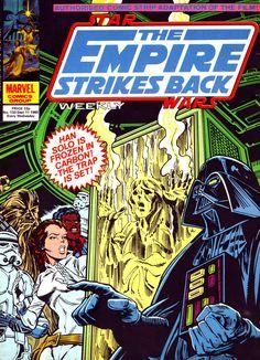 Marvel ESB Weekly 133 ... Art by Carmine Infantino.