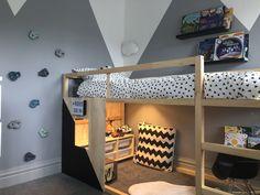 Great Photo Ikea Kura Bed Hack Thoughts Inexpensive, toddler-friendly and over . - Great Photo Ikea Kura Bed Hack Thoughts Inexpensive, toddler-friendly and surprisingly flexible, IK - Loft Ikea, Kura Ikea, Big Boy Bedrooms, Big Girl Rooms, Kids Bedroom, Lego Bedroom, Boy Rooms, Kids Rooms, Ikea Hack Lit