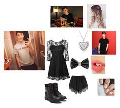 """""""Music Video With Shawn Mendes!!!❤️!!       By:Nicole"""" by puppylover920071 ❤ liked on Polyvore featuring moda, True Decadence, H&M, Amanda Rose Collection e Charlotte Tilbury"""