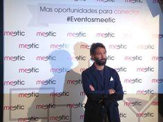 """El torero Sebastián Palomo Danko posa para los medios en nuestro photocall antes de su """"cita"""" #eventosmeetic"""