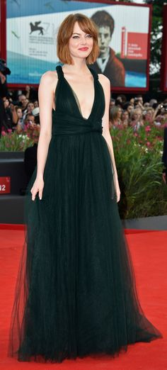 Emma Stone's red carpet style
