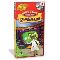 Amazon.com: Jump Start TV DVD Game - 2nd Grade: Power Prep: Toys & Games
