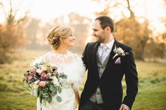 natural bride and groom photos