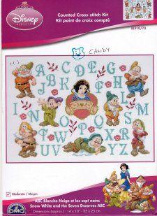 ABC's - Snow White & Dwarfs