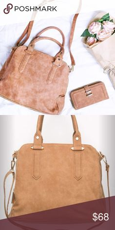 "*Coming Soon* Free People Halloway Vegan Tote Vegan leather tote bag featuring exposed zipper detailing. Zip top closure featuring zip and slip pockets. Braided top handle and a long adjustable and removable long strap from Violet Ray! 😘  Dimensions in Inches: 16.5"" = 41.91 cm Dimensions in Centimeters: 40.75"" = 103.5 cm Free People Bags Totes"