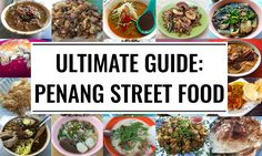 Penang food comes in all variations. We list 26 Penang street food from our food trail, from hawker food dishes to unique and rare ones.