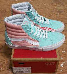 VANS X Golf Wang CFG Peach Sk-8 Hi Size 9 supreme tyler creator  #Vans #Skateboarding