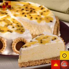 Torta Mousse de Maracujá com Marshmallow, torta gelada, mousse, maracujá, passion fruit