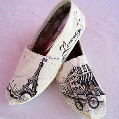 Toms shoes! Paris