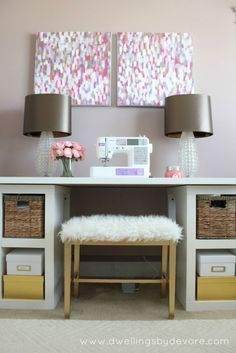 use an IKEA faux sheepskin rug to create seating with great texture by sharene