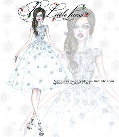 """❄Aria Montgomery Winter Ball ❄ dress by @georgeschakraofficial @mandiline…"