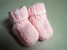 40 Awesome knitted baby booties free images
