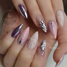 Nails Mirror Art Ideas