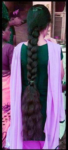 Bun Hairstyles For Long Hair, Haircut For Thick Hair, Braided Hairstyles, Long Hair Indian Girls, Indian Long Hair Braid, Beautiful Braids, Beautiful Long Hair, Super Long Hair, Wild Hair