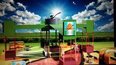 Behance :: Editing Maya 3d Maya, Basketball Court, Behance, 3d, Sports, Hs Sports, Sport, Maya Civilization