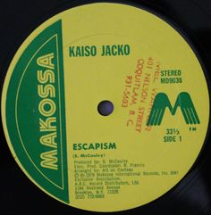 Kaiso Jacko - Escapism / Steelband Jam