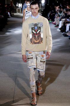 Tendances hommes - Les imprimés de l'été 2014 - Le défilé Givenchy printemps-été 2014