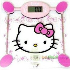 Hello kitty weight scale