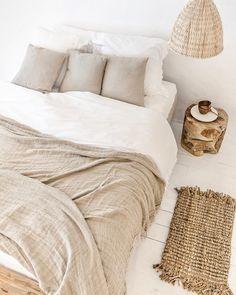 Home Interior Bedroom .Home Interior Bedroom Linen Bedroom, Cozy Bedroom, Bedroom Inspo, Dream Bedroom, Bedroom Decor, Beige Bedding, Quirky Bedroom, Queen Bedding, Bedding Sets