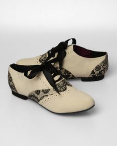 Iron Fist Lovelace Oxford Shoes - Beige I want these