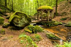 Die wildromantische Landschaft der Karlstalschlucht <3