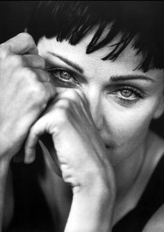"Madonna by Peter Lindbergh, 1994 ""Learn to say NO, I've had enough. Then nothing and no one can hurt you."""