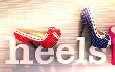 """Heels on Heels on Heels ... Check Out the New """"Gwendolyn"""" from Bettie Page Shoes"""