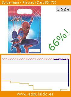 Spiderman - Playset (Dart 80473) (Juguete). Baja 66%! Precio actual 1,52 €, el precio anterior fue de 4,52 €. http://www.adquisitio.es/dart/6-bolsas-fiesta-the