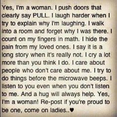 <3 I am totally a this kind of woman... along with many other quirks ;)