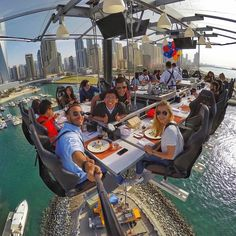 bestvacationsTag who you'd dine with! Dinner in the sky. By @ehabkaras - www.dinnerinthesky.ae https://www.instagram.com/dinnerintheskyuae/