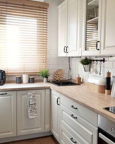 Kitchen Room Design, Modern Kitchen Design, Kitchen Layout, Interior Design Kitchen, Farmhouse Kitchen Decor, Home Decor Kitchen, New Kitchen, Home Kitchens, Cuisines Design