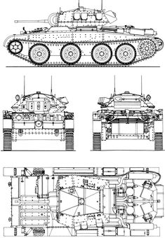 Cruiser Mk III blueprint