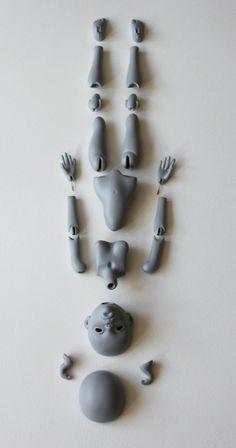 BJD doll ooak by Misterminou by Misterminoudolls.deviantart.com on @deviantART